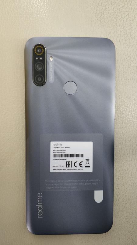 "Realme C3, экран 6.5"", NFC, 5000mAh, 3/64Gb, Android 10 - Фото 6"