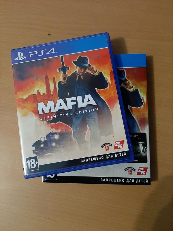 Продам игру Mafia Definitive Edition для PlayStation 4 PS4