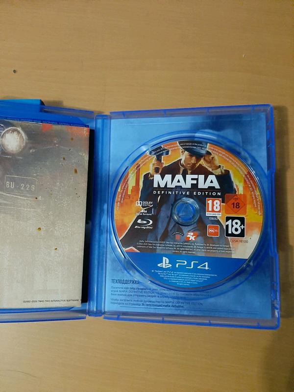 Продам игру Mafia Definitive Edition для PlayStation 4 PS4 - Фото 2