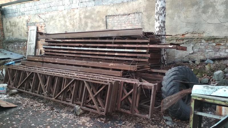 Колони (ферми) металоконструкції