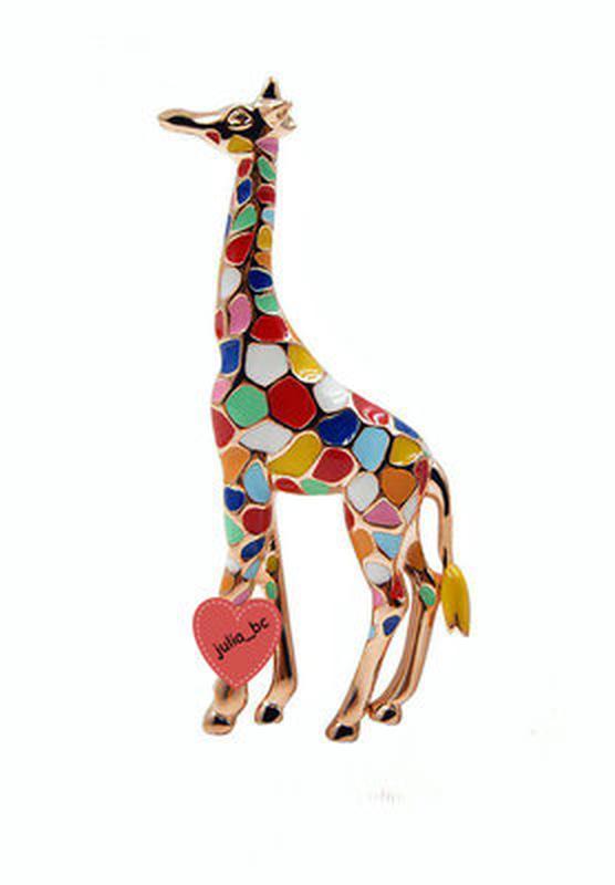 Брошь жираф, смотрите больше бижутерии в моих объявлениях
