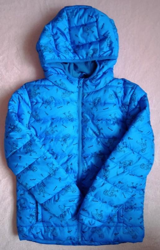 Куртки демисезонные на флисе мальчикам, польша, 116-140 см