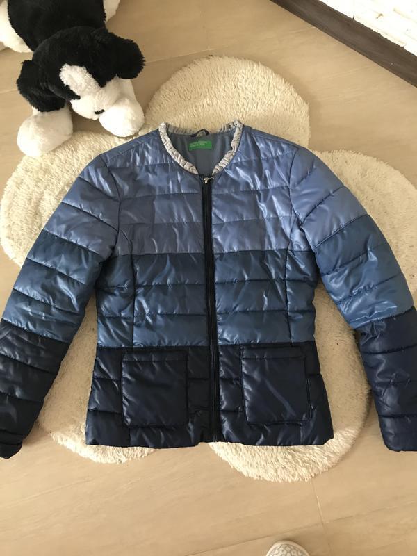 Брендовая деми курточка benetton