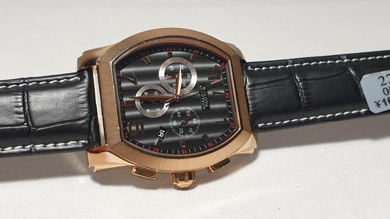 Мужские часы Bulova Accutron 64B114 Sapphire - Фото 3