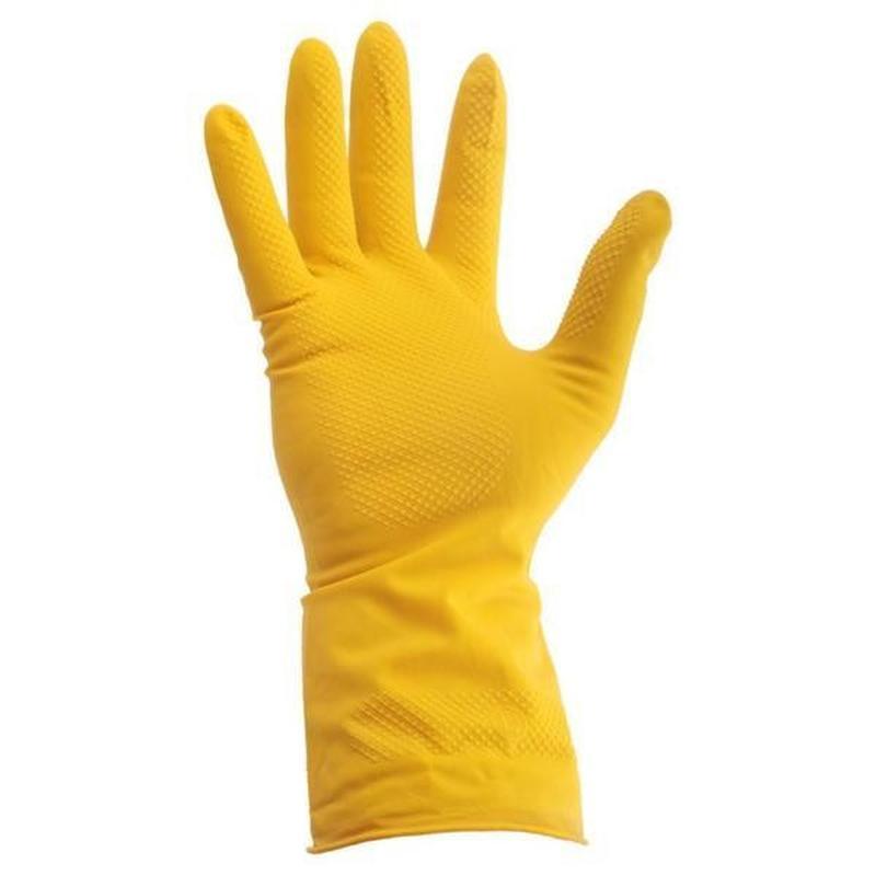 Перчатки резиновые Intertool