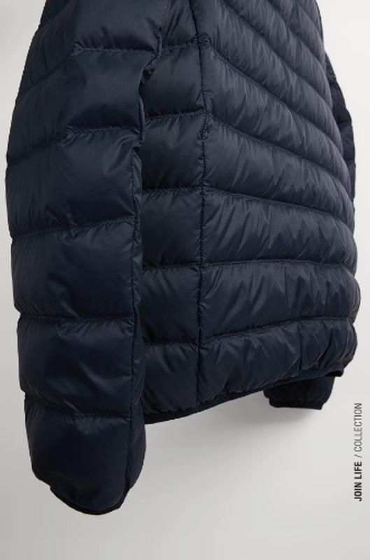 Ультралегкая куртка пуховик zara - Фото 3