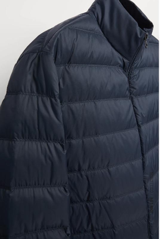 Ультралегкая куртка пуховик zara - Фото 4