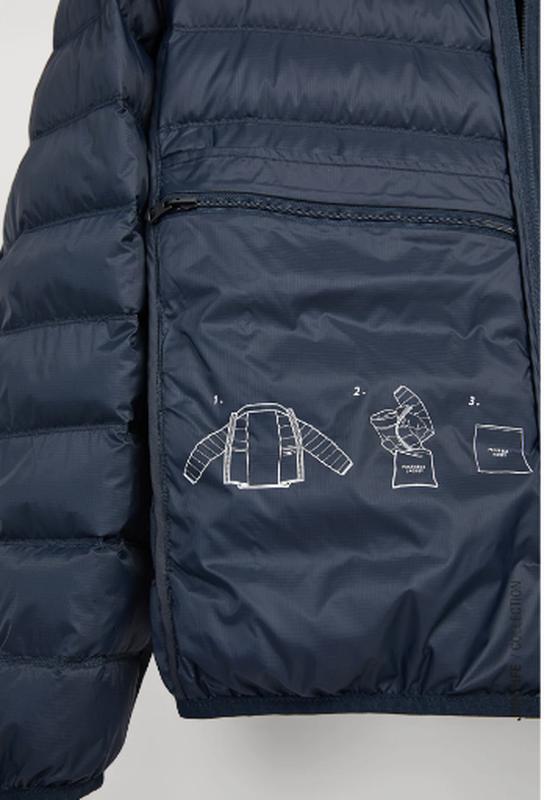 Ультралегкая куртка пуховик zara - Фото 6