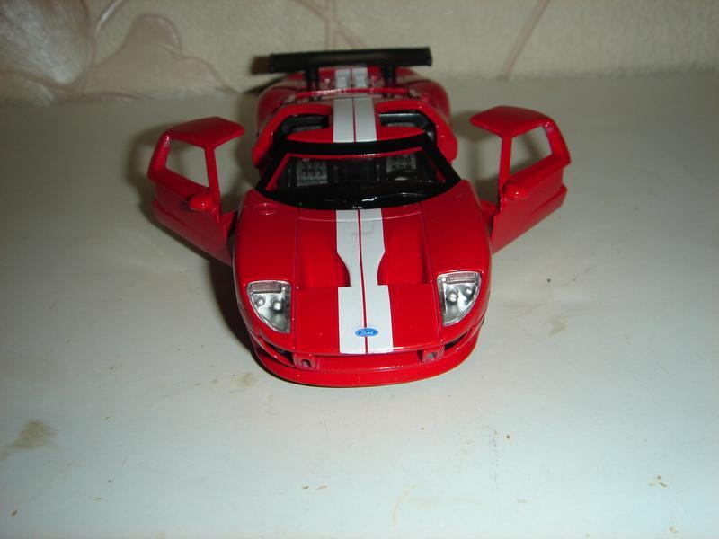 Машинка металлическая инерционная Ford GT . 1/40. АВТОПРОМ. - Фото 2