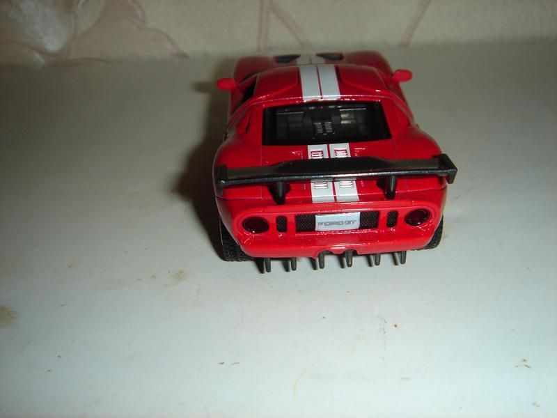 Машинка металлическая инерционная Ford GT . 1/40. АВТОПРОМ. - Фото 3