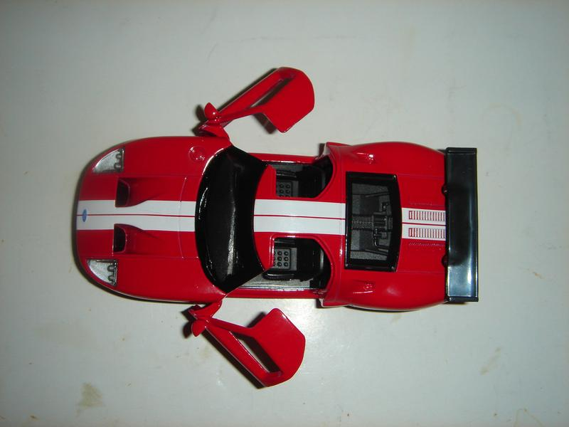 Машинка металлическая инерционная Ford GT . 1/40. АВТОПРОМ. - Фото 4