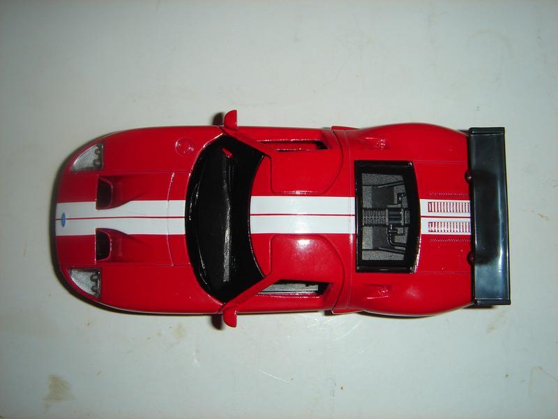 Машинка металлическая инерционная Ford GT . 1/40. АВТОПРОМ. - Фото 5