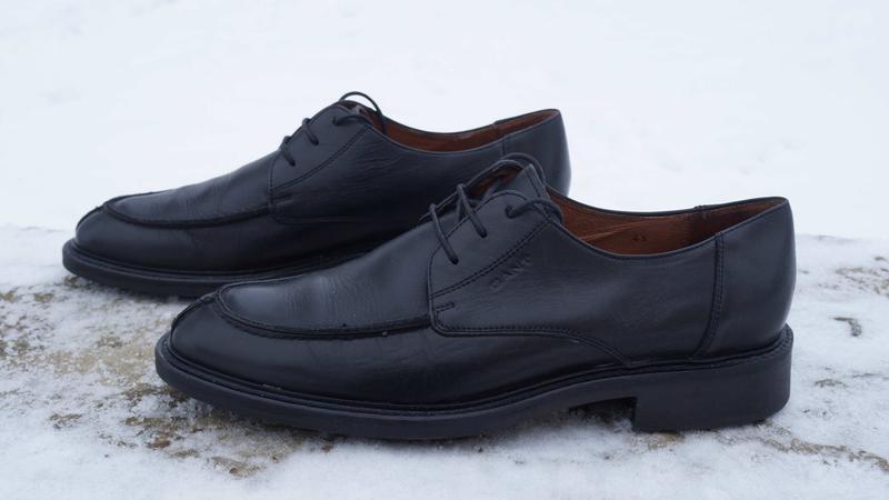 Чоловічі туфлі, броги бренду gant - Фото 2