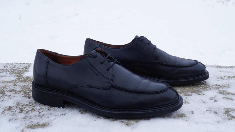 Чоловічі туфлі, броги бренду gant - Фото 3