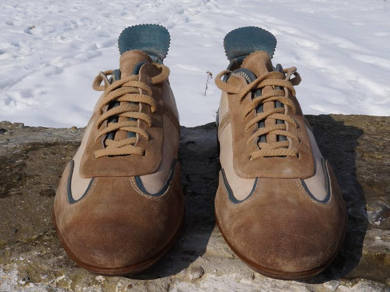 Красиві чоловічі туфлі hugo boss - Фото 4