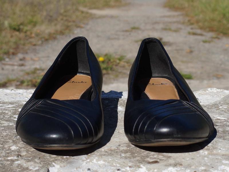 Туфлі, лофери, балетки clarks - Фото 2