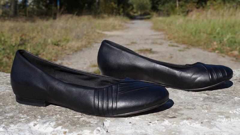 Туфлі, лофери, балетки clarks - Фото 3