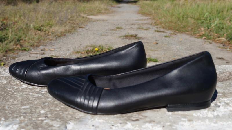 Туфлі, лофери, балетки clarks - Фото 4