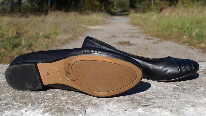 Туфлі, лофери, балетки clarks - Фото 5