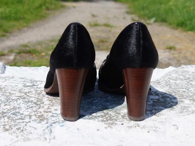 Жіночі туфлі clarks шкіра поні - Фото 3