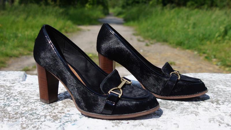 Жіночі туфлі clarks шкіра поні - Фото 6