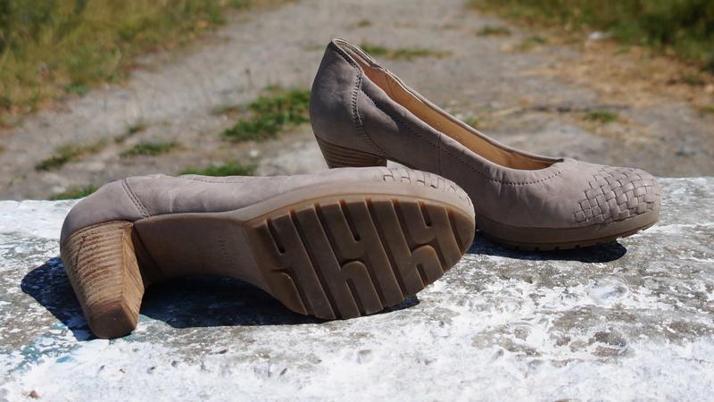 Жіночі шкіряні туфлі hogl - Фото 3