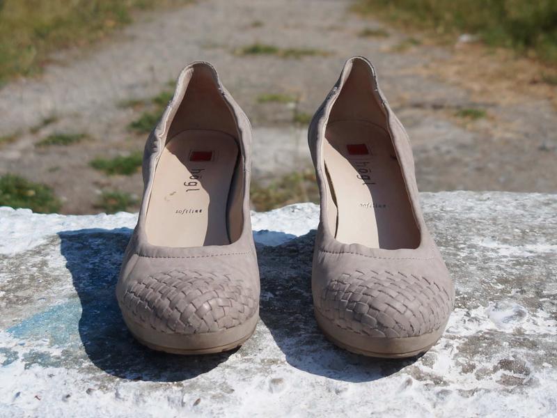 Жіночі шкіряні туфлі hogl - Фото 4