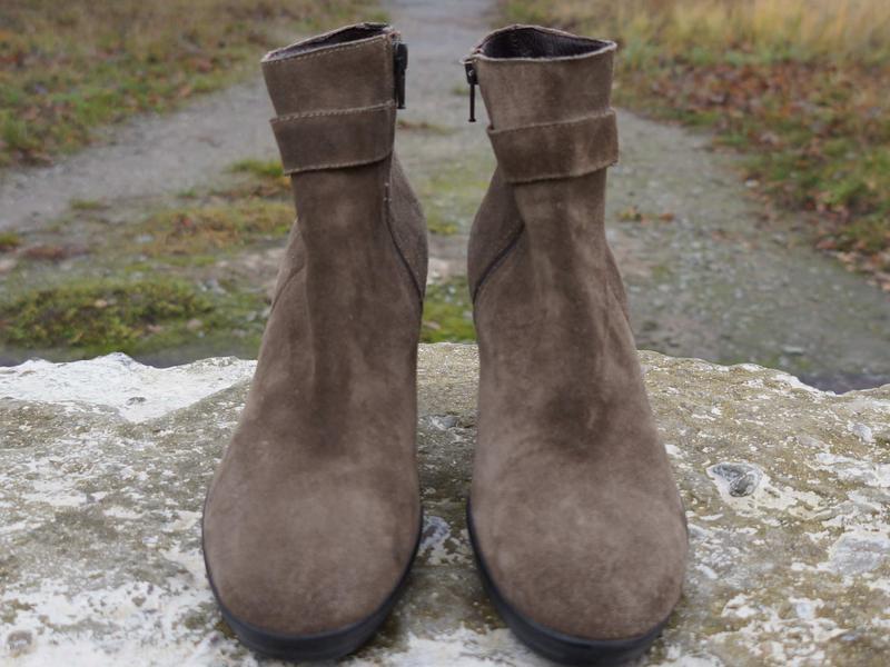 Замшеві черевички bagatt - Фото 2