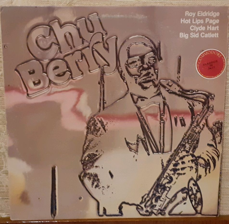 Пластинка Chu Berry  ‎– A Giant Of The Tenor Sax.
