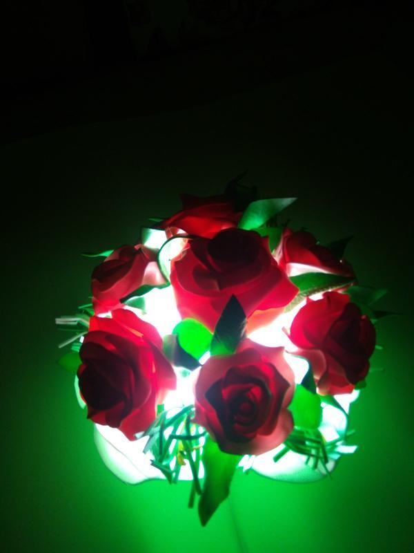 Ночник - букет цветов - Фото 5