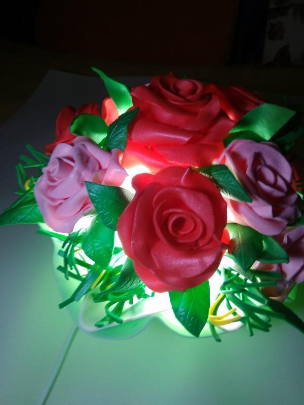 Ночник - букет цветов - Фото 4