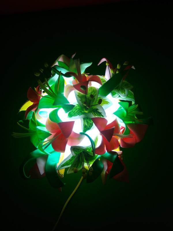 Ночник - букет цветов - Фото 10