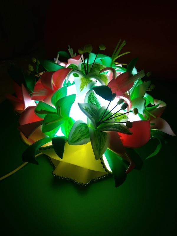 Ночник - букет цветов - Фото 8