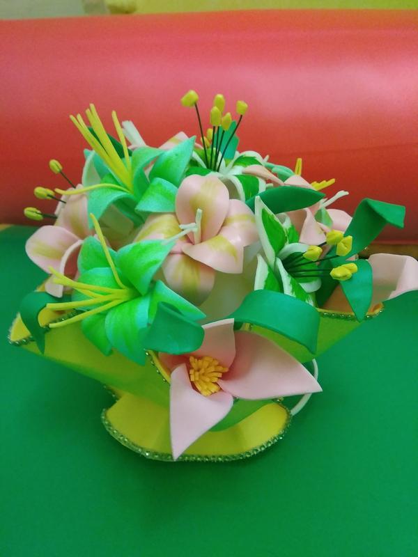 Ночник - букет цветов - Фото 7