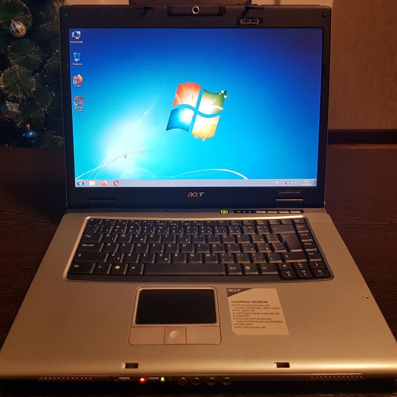 Ноутбук Acer 2492 в отличном состоянии