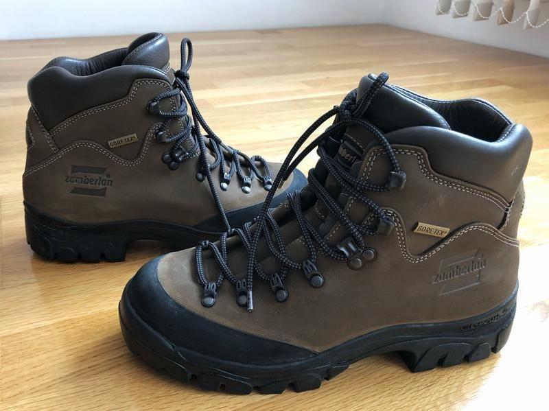Итальянские трекинговые горные ботинки zamberlan civetta - Фото 4