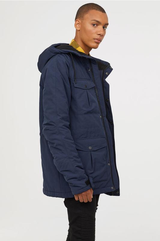 Мужская зимняя куртка парка h&m divided