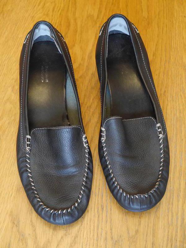 Туфлі шкіряні розмір 7 на 41 стелька 26,5 см footglove