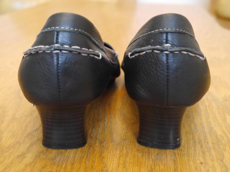 Туфлі шкіряні розмір 7 на 41 стелька 26,5 см footglove - Фото 4