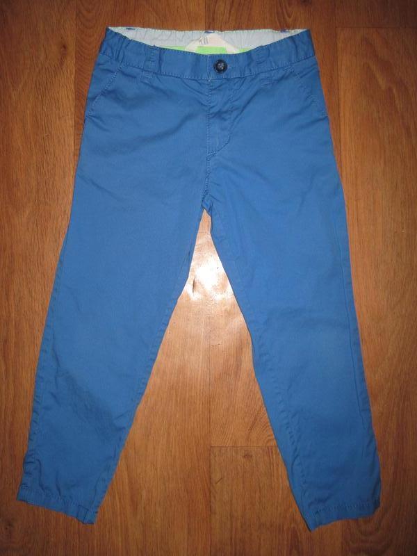 Штаны для мальчика. на 4-5 лет, на рост 110 см. h&m. в отлично...