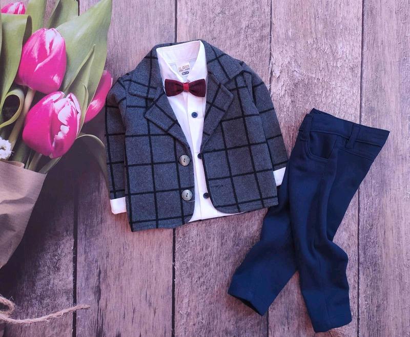 Нарядный костюм для мальчика 1- 4 года