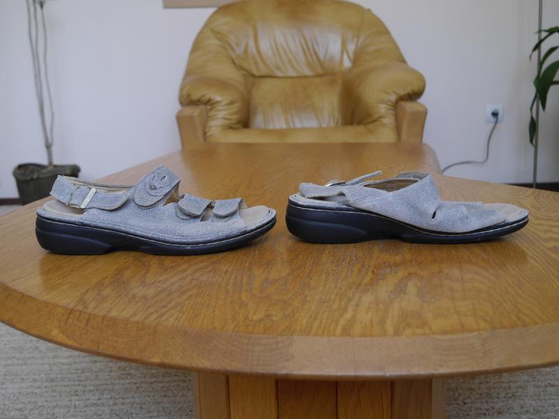 Босоніжки шкіряні розмір 38  finn comfort - Фото 2