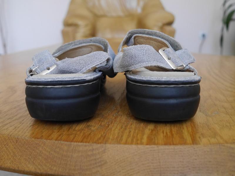 Босоніжки шкіряні розмір 38  finn comfort - Фото 3