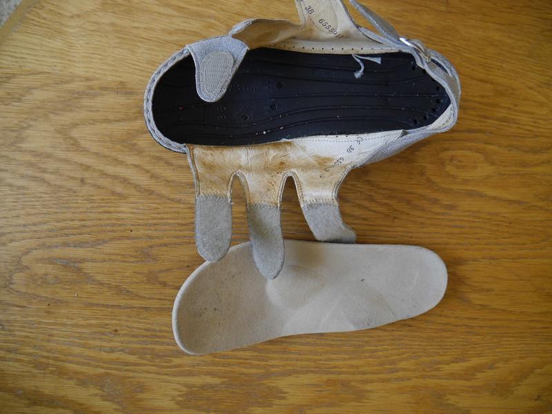 Босоніжки шкіряні розмір 38  finn comfort - Фото 4