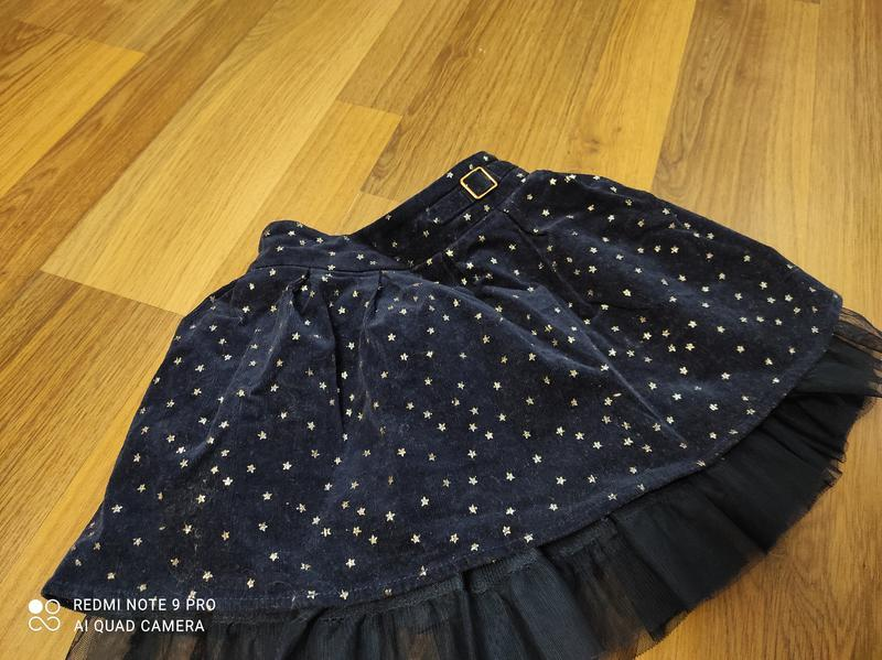 Нарядная юбка для девочки 2-3 годика