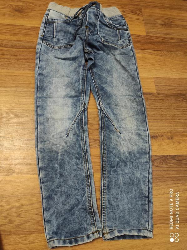 Классные джинсы для мальчика 7-8лет