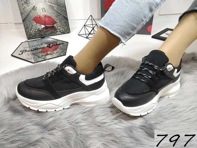 Распродажа черных кроссовочек - Фото 3