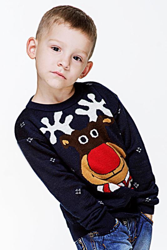 Светр вязаний для хлопчика
