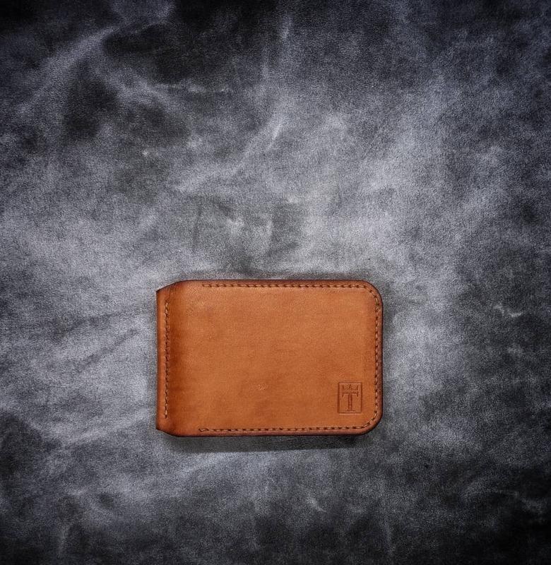Универсальный кожаный кошелёк