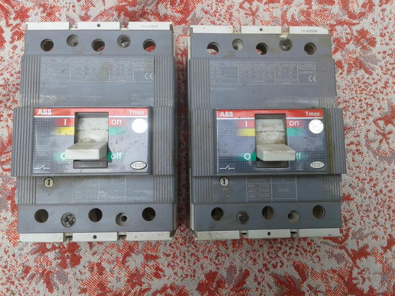 Автоматический выключатель ABB T3N 250 FF In=250A, 400 В, 50 Гц
